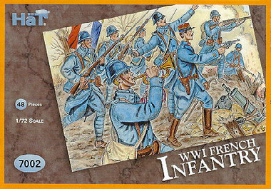 HaT 7002 WWI British Infantry Figures 1:72 Scale