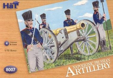 HaT 8007 Napoleonic Prussian Artillery Figures 1:72 Scale