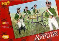 HaT 8010 Napoleonic Russian Artillery Figures 1:72 Scale