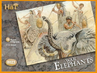 HaT 8023 Carthaginian War Elephants  Figures 1:72 Scale (HAT08023)