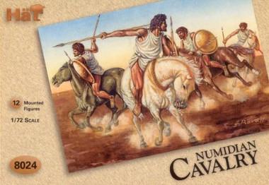 HaT 8024 Hannibal's Numidian Cavalry Figures 1:72 Scale