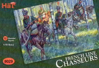 HaT 8029 Napoleonic French Chasseurs a Cheval Figures 1:72 Scale