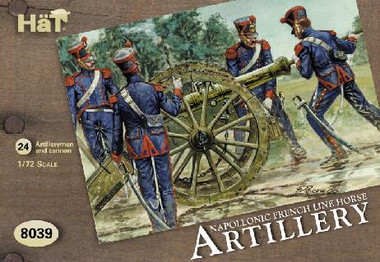 HaT 8039 Napoleonic Horse Artillery of the Line Figures 1:72 Scale