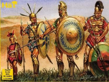 HaT 8040 Punic War Italian Ally Infantry Figures 1:72 Scale
