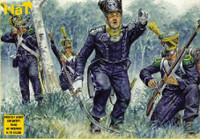 HaT 8042 Napoleonic French Light Infantry  Figures 1:72 Scale