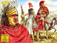 HaT 8051 Republican Roman Command  Figures 1:72 Scale