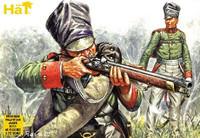HaT 8053 Napoleonic Prussian Volunteer Jager Figures 1:72 Scale