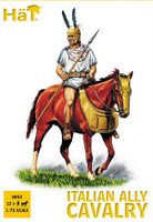 HaT 8054 Punic War Italian Ally Cavalry Figures 1:72 Scale