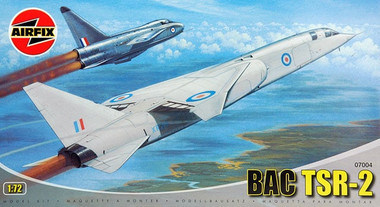 Airfix 07004 BAC TSR-2 Scale Model Kit