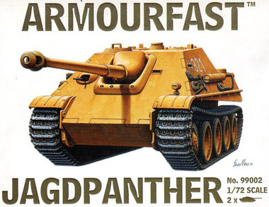 ArmourFast 99002 Jagdpanther Military Vehicles 1:72 Scale