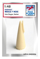 High Planes Dassault Mirage V Nose 1/48