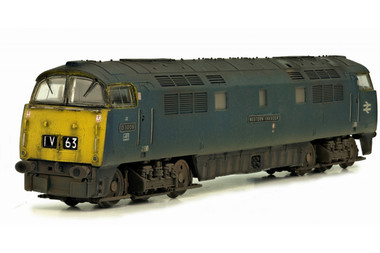 Dapol 2D-003-011 Class 52 Br Blue #D1009 N Gauge Model Railway Rolling Stock