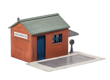 Wills Kits Scenic Series SS16 Weighbridge & Hut OO/HO Lineside Accessories