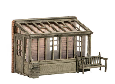 Wills Kits Scenic Series SS24 Conservatory with Garden Seat OO/HO Lineside Accessories