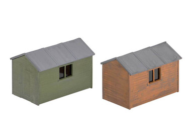 Wills Kits Scenic Series SS58 Garden Sheds (2 kits in pack) OO/HO Lineside Accessories