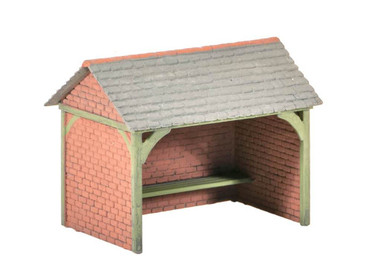 Wills Kits Scenic Series SS75 Bus Shelter OO/HO Lineside Accessories