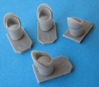 OzMods Scale Models Lockheed C-130J Engine Pipes Accessories 1:72 (OZA07212)