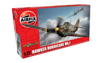 Airfix A01010 Hawker Hurricane MkI 1:72 Scale Model Kit