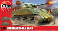 Airfix A01303 Sherman M4 Mk1 Tank 1:76 Scale Model Kit