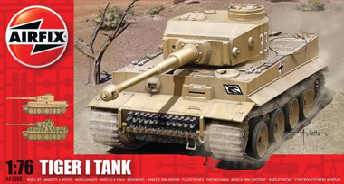 Airfix A01308 Tiger I Tank  1:76 scale model kit