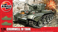 Airfix A02338 Cromwell Cruiser Tank 1:76 Scale Model Kit