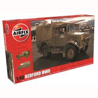 Airfix A03313 Bedford MWD Light Truck 1:48 Scale Model Kit