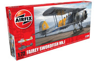 Airfix A04053A Fairey Swordfish Mk.I 1:72 Scale Model Kit