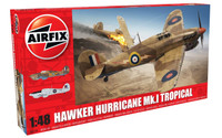 Airfix A05129 Hawker Hurricane Mk.I - Tropical 1:48 Scale Model Kit