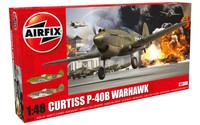 Airfix A05130 Curtiss P-40B Warhawk 1:48 Scale Model Kit