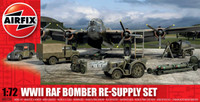 Airfix A05330 WWII RAF Bomber Re-supply Set 1:72 Scale Model Kit