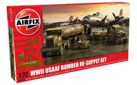 Airfix A06304 WWII USAAF 8th Air Force Bomber Resupply Set 1:72 Scale Model Kit