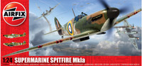 Airfix A12001A Supermarine Spitfire MkIa 1:24 Scale Model Kit