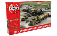 Airfix A12010 Eighth Air Force: Boeing B-17G??û & Bomber Re-supply Set 1:72 Scale Model Kit