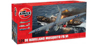 Airfix A25001A De Havilland Mosquito FBVI 1:24 Scale Model Kit