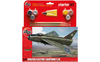 Airfix A55305 English Electric Lightning F.2A Starter Set 1:72 Scale Model Kit