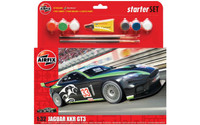 Airfix A55306 Jaguar XKRGT Starter Set 1:32 Scale Model Kit