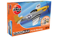 Airfix QUICK BUILD is an exciting range of simple, snap together models suitable as an introduction to modelling for kids (5+), or as a bit of construction fun for the more experienced modeller