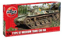 Airfix A01319 Chi Ha Tank - Type 97 1:76 Scale Model Kit