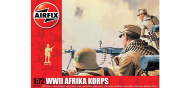 Airfix A01711 WWII Afrika Korps 1:72 Scale Model Figures