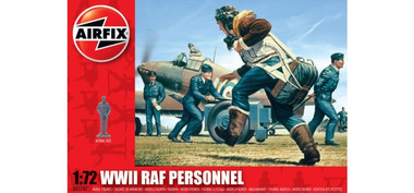 Airfix A01747 WWII RAF Personnel 1:72 Scale Model Figures