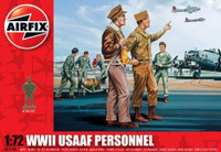 Airfix A01748 WWII USAAF Personnel 1:72 Scale Model Figures