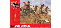Airfix A01754 WWII Gurkhas 1:72 Scale Model Figures