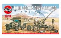 A02314 Airfix Vintage Classics - Bofors 40mm Gun & Tractor 1:76