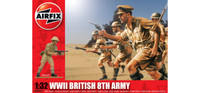 Airfix A02707 WWII British 8th Army 1:32 Scale Model Kit
