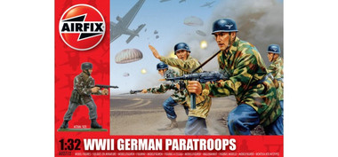 Airfix A02712 WWII German Paratroopers 1:32 Scale Model Kit