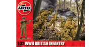 Airfix A02718 WWII British Infantry  1:32 Scale Model Kit