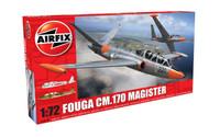 Airfix A03050 Fouga Magister 1:72 Scale Model Kit