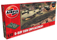 Airfix A05701 D-Day Gun Emplacement 1:76 Scale Model Figures