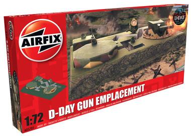 Airfix A05701 D-Day Gun Emplacement 1:76 Scale Model Figures