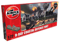 Airfix A05702 D-Day Coastal Defence Fort 1:76 Scale Model Figures